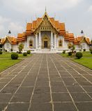 De Marmeren Tempel van Bangkok Thailand Royalty-vrije Stock Foto