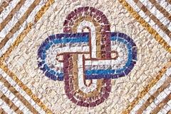 De marmeren textuur van het steenmozaïek Stock Foto's