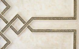 De Marokkaanse Architectuur graveert Details Royalty-vrije Stock Fotografie