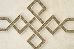 De Marokkaanse Architectuur graveert Detailsachtergrond Royalty-vrije Stock Afbeelding