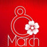 8 de marzo Imagen de archivo
