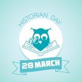 28 de marzo día del historiador Fotografía de archivo libre de regalías