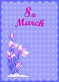 8 de marzo día de las mujeres Imagen de archivo
