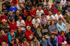 4 de marzo de 2017 - JEFFERSON CITY - presidente Trump Supporters Hold Rally, Jefferson City, capitolio del estado de Missouri fotos de archivo