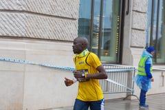 3 de marzo de 2015 maratón de la armonía en Ginebra Suiza Imagen de archivo libre de regalías