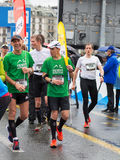 3 de marzo de 2015 maratón de la armonía en Ginebra Suiza Fotografía de archivo libre de regalías