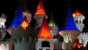 3 de marzo de 2019 - Las Vegas, Nevada - centro turístico de Excalibur y casino fotos de archivo libres de regalías