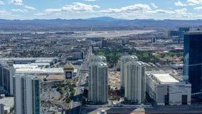 3 de marzo de 2019 - Las Vegas, Nevada - el top del restaurante del mundo - El COMIENZO foto de archivo libre de regalías