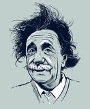 20 de marzo de 2018: Retrato de Albert Einstein Uso editorial solamente Imagen de archivo libre de regalías