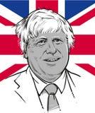19 de marzo de 2018 Secretario de Estado para los asuntos extranjeros y de la Commonwealth Boris Johnson stock de ilustración