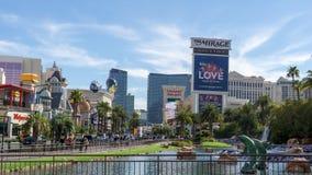 3 de marzo de 2019 - tira de Las Vegas, Nevada - de Las Vegas fotografía de archivo