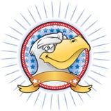 De mascotte van de adelaar Stock Foto