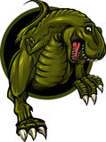 De mascotte van de dinosaurus Royalty-vrije Stock Fotografie