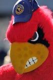 De mascotte van de Kardinalen van Louisville royalty-vrije stock foto