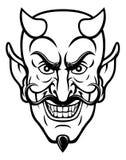 De Mascotte van duivelssporten stock illustratie