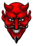 De Mascotte van duivelssporten royalty-vrije illustratie