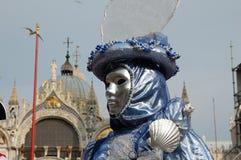 De maskerade van Venetië Stock Afbeelding