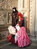 De maskerade van Venetië stock afbeeldingen