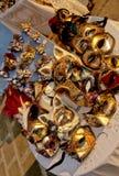 De maskers Italië van Carnaval stock afbeeldingen