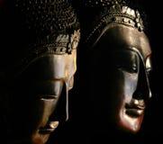De Maskers van Boedha Royalty-vrije Stock Fotografie