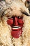 De maskers van Busho stock afbeeldingen