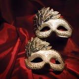 De maskers van Carnaval Stock Afbeelding