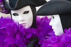 De maskers van Carnaval Royalty-vrije Stock Fotografie
