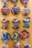 De maskers van de maskerade Stock Foto
