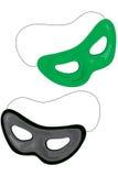 De maskers van de partij Royalty-vrije Stock Fotografie