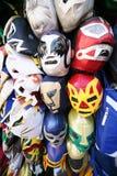 De Maskers van Luchador Royalty-vrije Stock Afbeeldingen