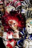 De maskers van Venetië Stock Fotografie