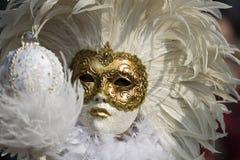 De maskers van Venetië Royalty-vrije Stock Foto's