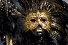 De maskers van Venetië Stock Afbeelding