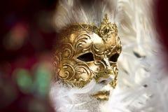 De maskers van Venetië Stock Foto's