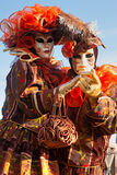 De maskers van Venetië, Carnaval. Stock Afbeeldingen