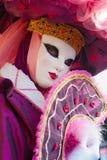 De Maskers van Venetië, Carnaval. Stock Afbeelding