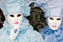 De Maskers van Venetië, Carnaval. stock foto's