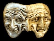 De maskers van Venetië Carnaval Royalty-vrije Stock Foto