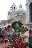 De maskers Venetië van de maskerade stock afbeeldingen