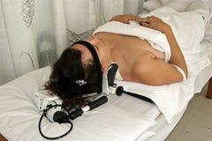 De massage van de fysiotherapie Stock Fotografie
