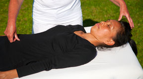 De massage van de polariteit Stock Afbeelding