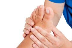 De massage van de voet Royalty-vrije Stock Fotografie