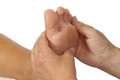 De Massage van de voet royalty-vrije stock foto