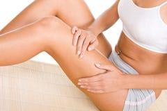 De massage van de vrouw stock foto's