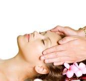 De Massage van het kuuroord stock afbeeldingen