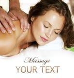 De Massage van het kuuroord royalty-vrije stock afbeeldingen