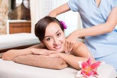 De massage van het kuuroord stock fotografie