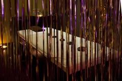 De massagebed van het KUUROORD Stock Foto