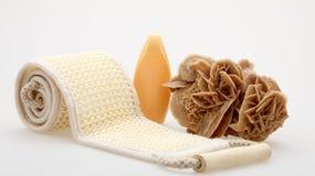 De massageriem van de sisal stock foto
