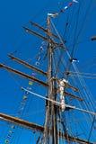 De mast van de boot royalty-vrije stock foto